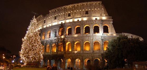 Rooma Joulukuussa