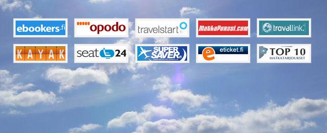 Mitä sivustoa käytät kun vertailet lentoja?