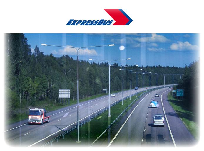 Expressbus kesäliput 2012, matkusta viidellä eurolla!