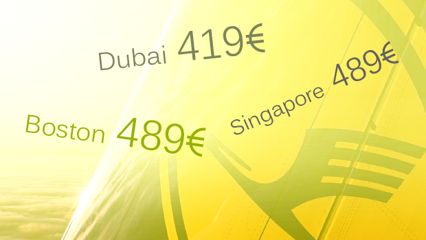 Lufthansan kaukokohteet alennettuun hintaan