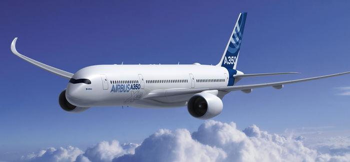 Uusi Airbus 350 lähti ensilennolle